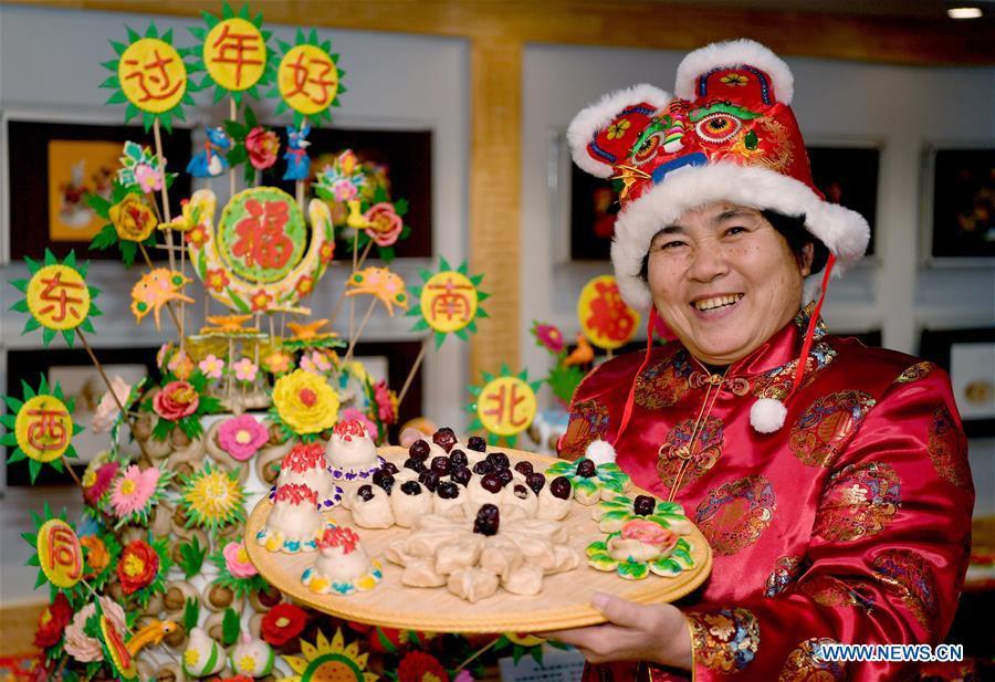 中国-陕西-西安-春节-民俗文化(CN)