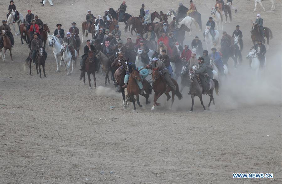 阿富汗-巴格兰-布兹卡西