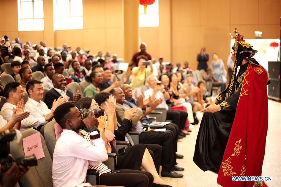 乌干达-坎帕拉-中国农历新年庆祝活动