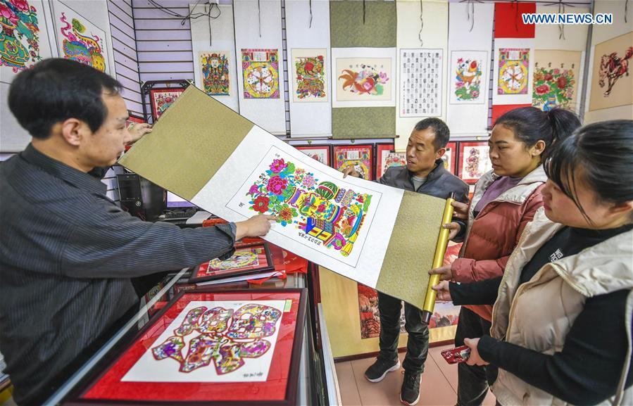 CHINA-HEBEI-WUQIANG-NEW YEAR PAINTINGS (CN)