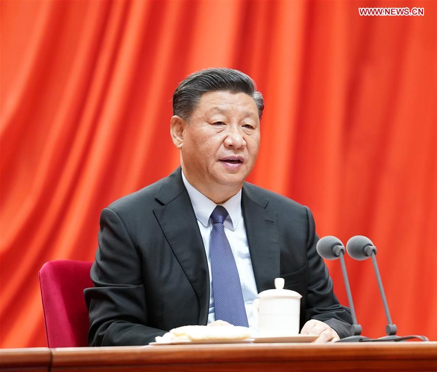 CHINA-BEIJING-XI JINPING-PLENARY SESSION OF 19TH CENTRAL COMMISSION FOR DISCIPLINE INSPECTION OF THE CPC (CN)