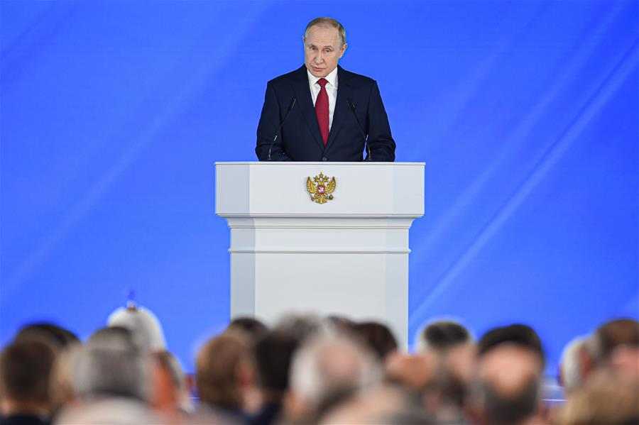 RUSSIA-MOSCOW-PUTIN-ANNUAL ADDRESS