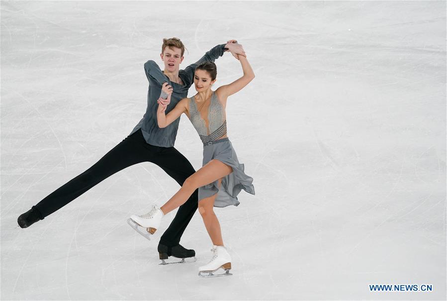 (SP)瑞士-洛桑-冬季瑜伽-花样滑冰混合NOC团队