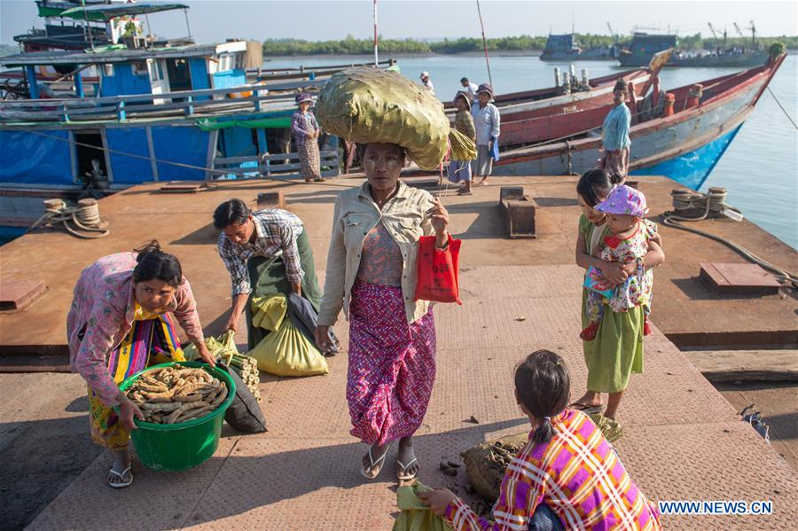 MYANMAR-SCENERY