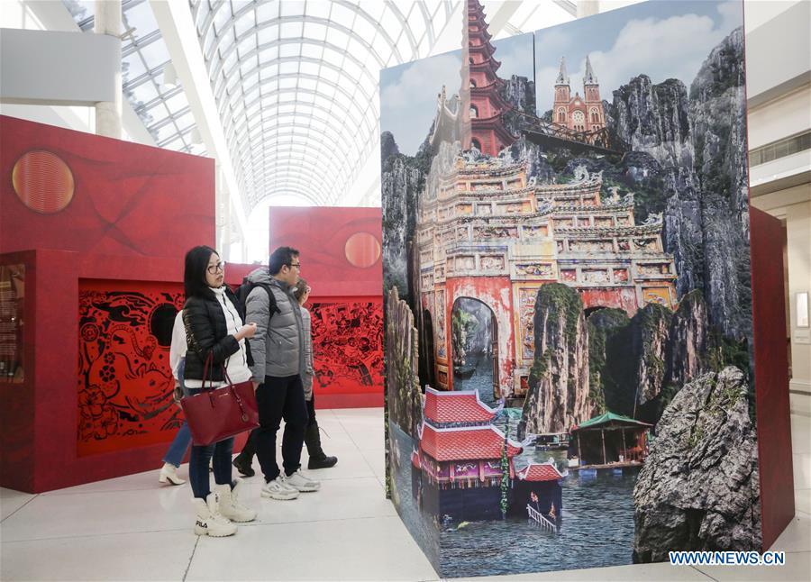 加拿大-温哥华-卢纳尔新年艺术展览