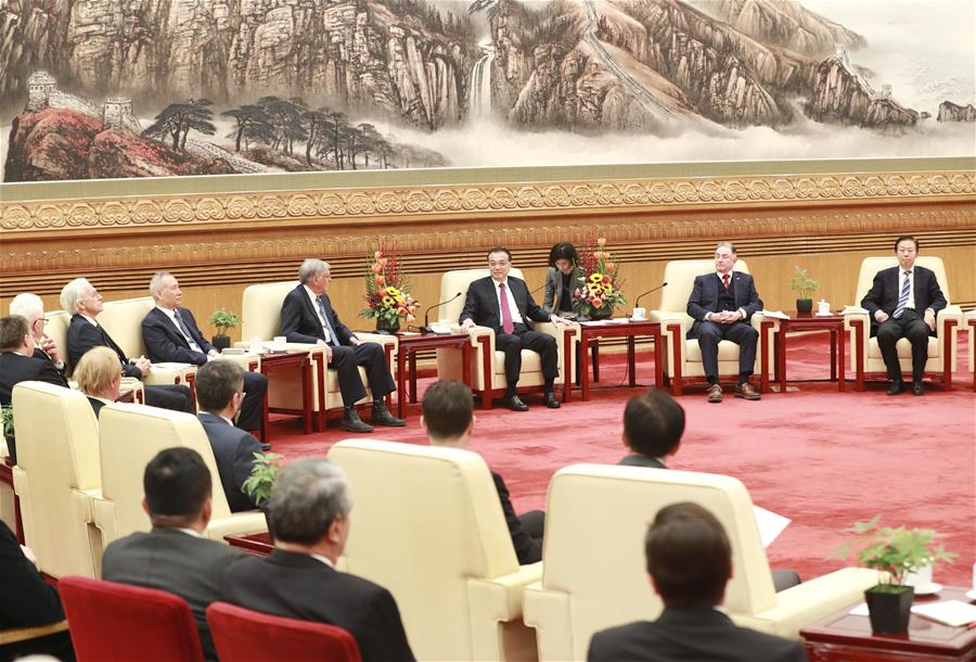 CHINA-BEIJING-LI KEQIANG-SYMPOSIUM-FOREIGN EXPERTS (CN)