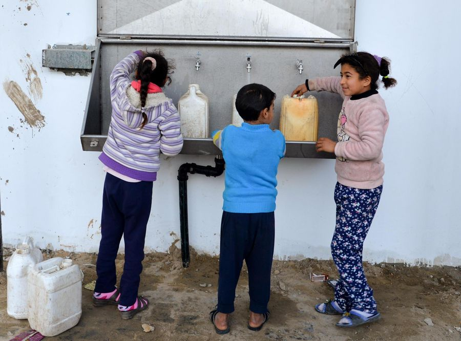 Feature: Palestinians in Gaza benefit from China-funded desalination plants - Xinhua | English.news.cn