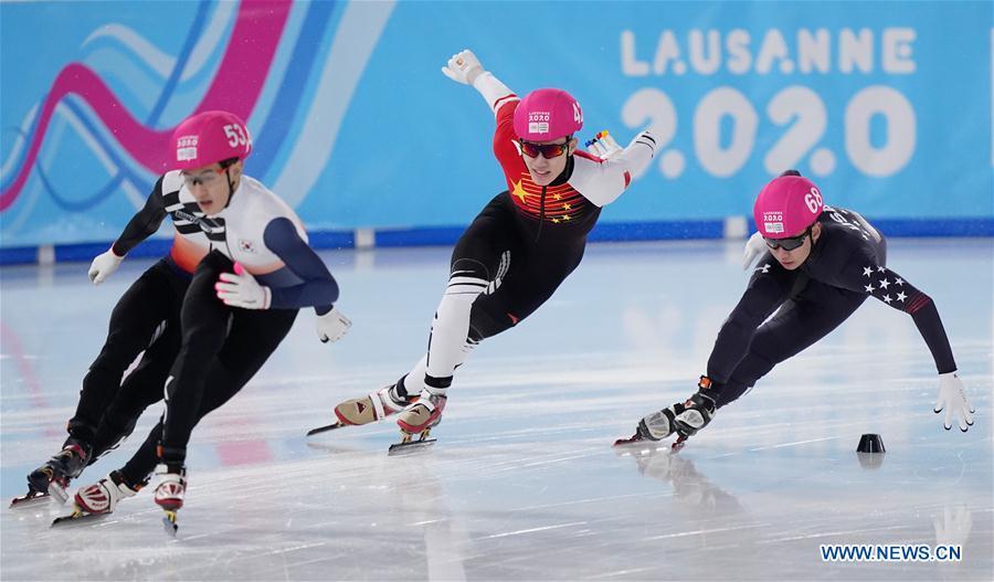 (SP)瑞士-洛桑-冬季YOG-SHORT TRACK-MEN'S 1000M
