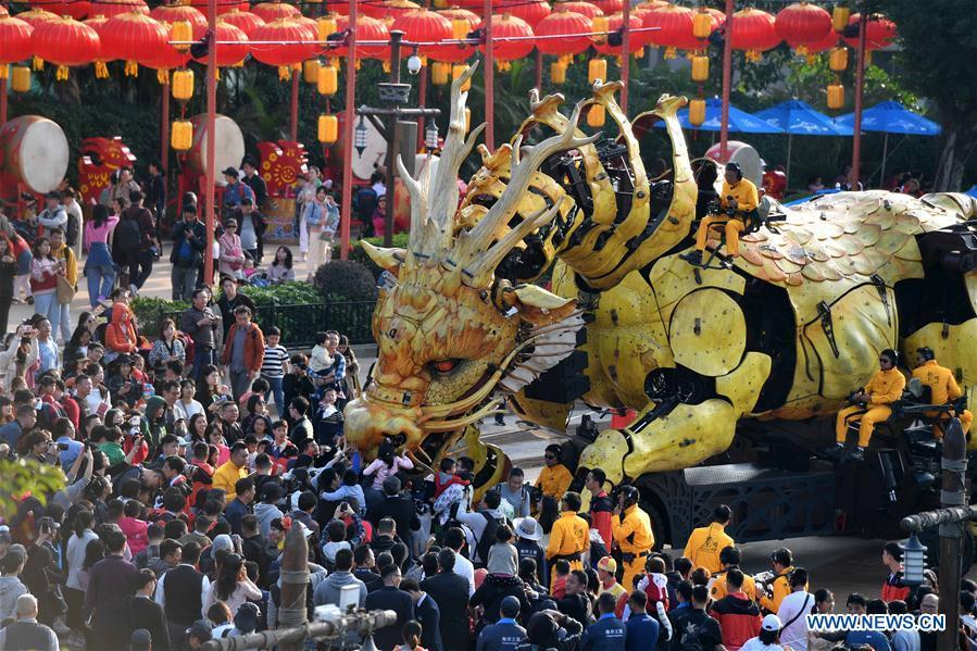 CHINA-GUANGDONG-ZHUHAI-MECHANICAL HORSE DRAGON (CN)