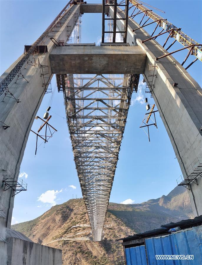 CHINA-YUNNAN-JINSHA RIVER BRIDGE-CONSTRUCTION (CN)