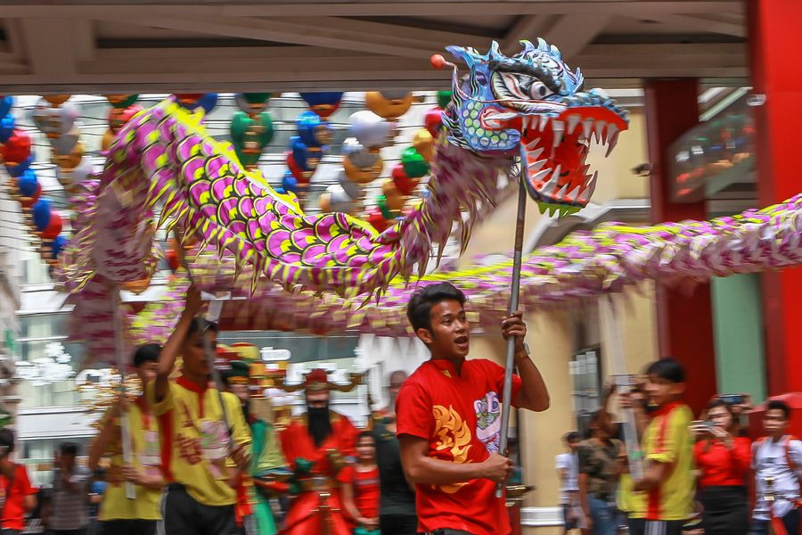 celebrations held to greet chinese lunar new year in manila xinhua english news cn www xinhuanet com