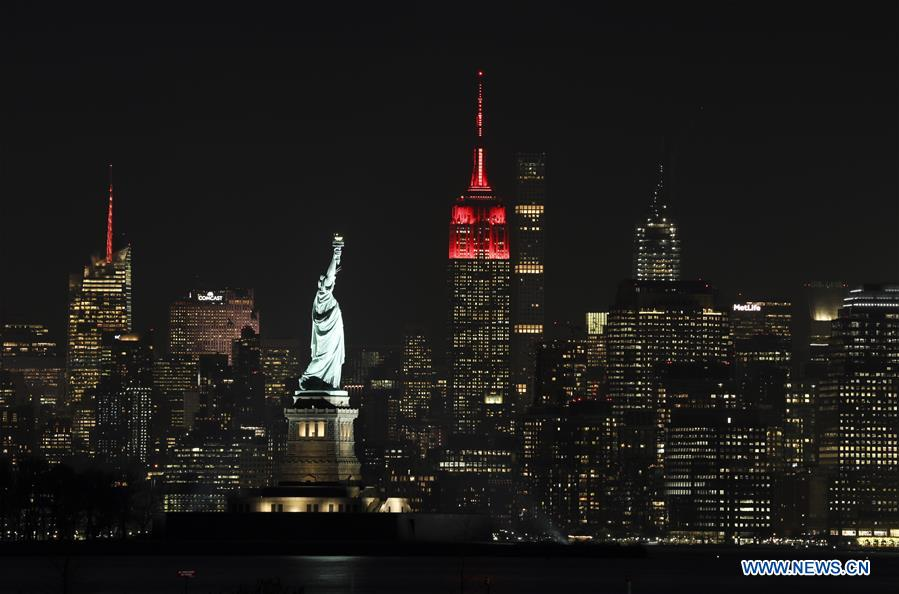 U.S.-NEW YORK-EMPIRE STATE BUILDING-CHINA-LUNAR NEW YEAR