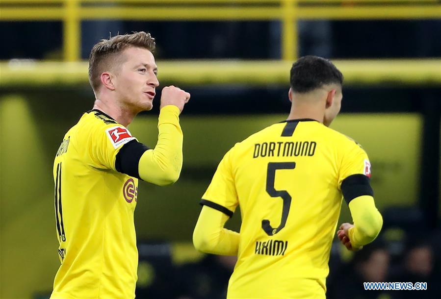 German Bundesliga Borussia Dortmund Vs Fc Cologne Xinhua English News Cn