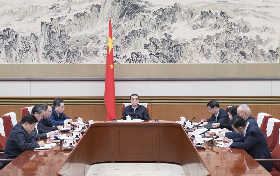 Chinese Premier inspects novel coronavirus control work in Wuhan - Xinhua   English.news.cn