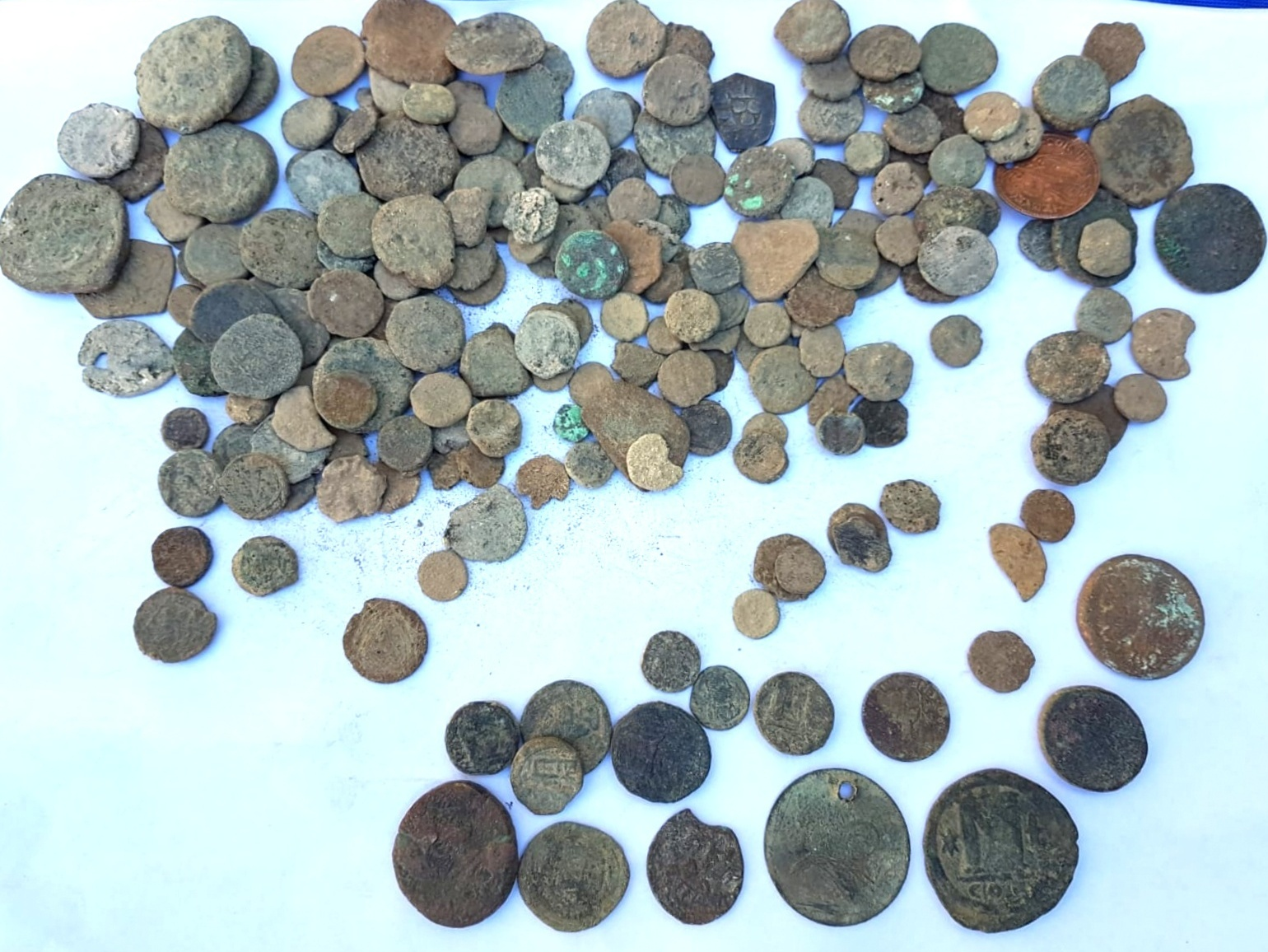 Israel finds 232 ancient coins in thief's home - Xinhua | English.news.cn