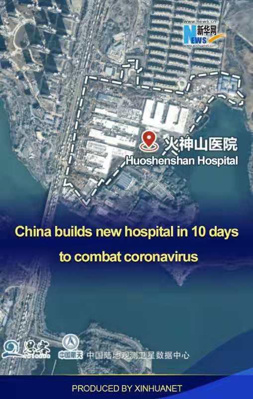 China Builds New Hospital in Ten Days to Combat Coronavirus