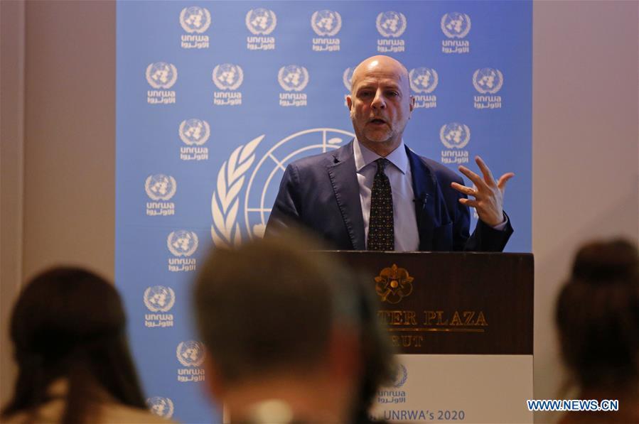 LEBANON-BEIRUT-UNRWA-FUNDING APPEAL