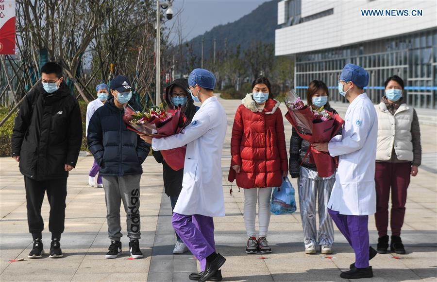 CHINA-ZHEJIANG-HANGZHOU-CURED PATIENTS (CN)