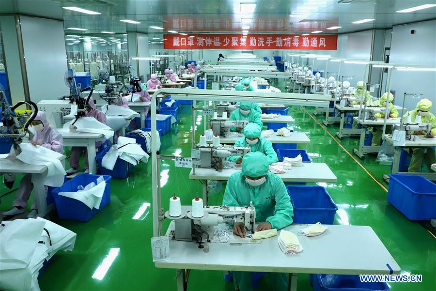 #CHINA-MASK-PRODUCTION (CN)
