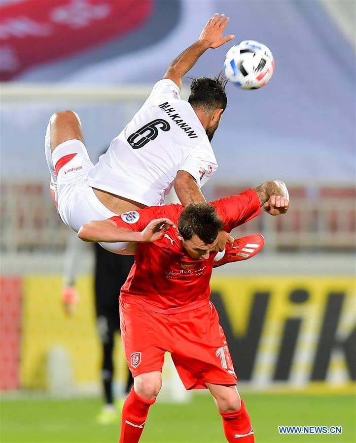 Afc Champions League Group C Football Match Duhail Sc Vs Persepolis Fc Xinhua English News Cn