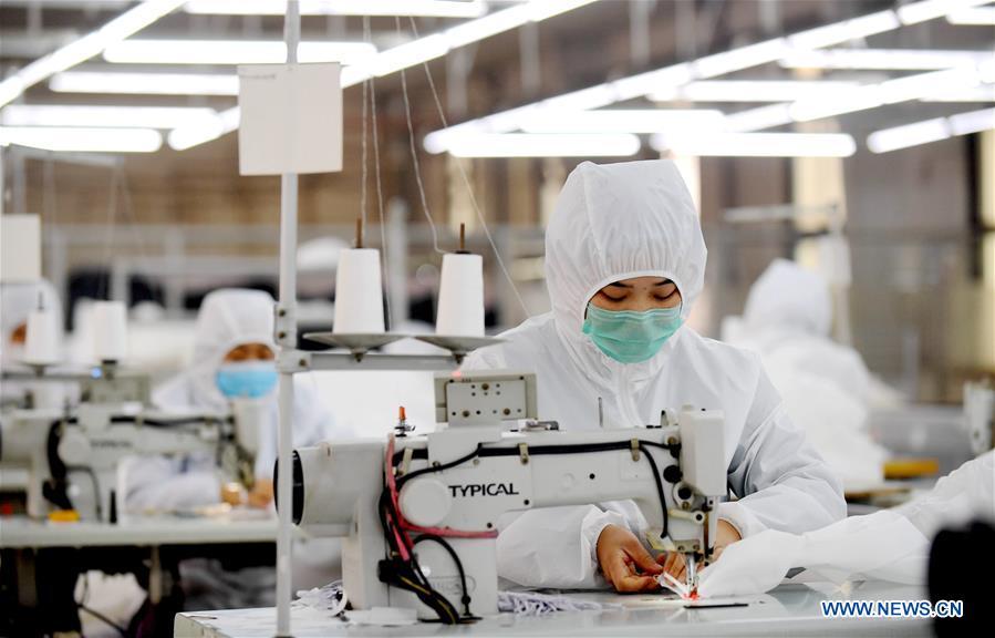 CHINA-HEBEI-SHIJIAZHUANG-MEDICAL MATERIALS-PRODUCTION (CN)