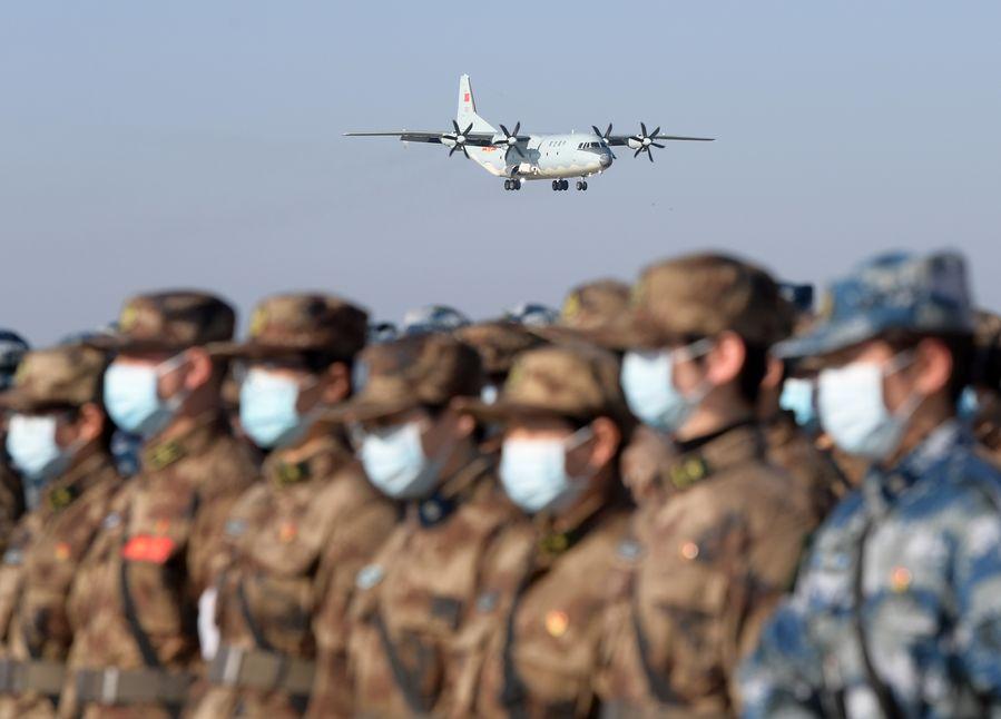 1,200 military medics arrive in Wuhan to help battle coronavirus - Xinhua | English.news.cn