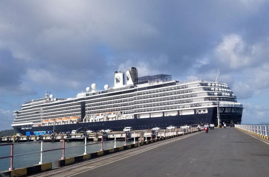 1,000 passengers, crew members disembark from Westerdam cruise ship - Xinhua   English.news.cn