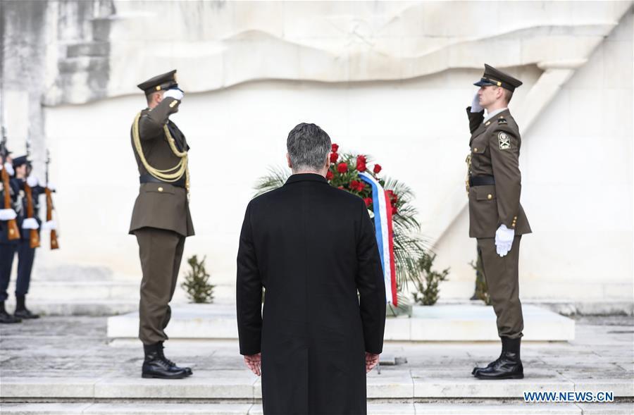 克罗地亚-萨格勒布总统-佐兰·米兰诺维奇