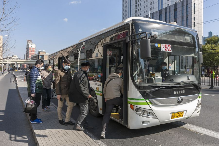 China to fully resume public transport in regions with low risk of coronavirus epidemic - Xinhua   English.news.cn