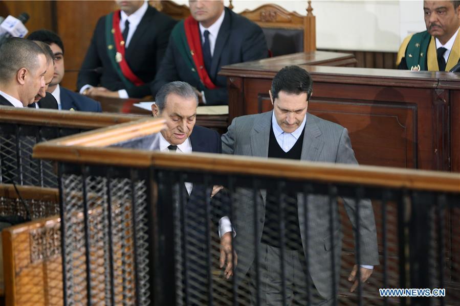 埃及前总统穆巴拉克腐败费用的埃及人