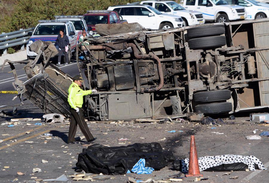At least 7 dead in Ecuador traffic accident - Xinhua | English.news.cn