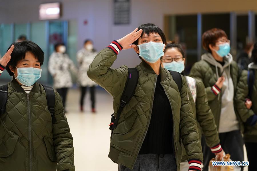 CHINA-HEILONGJIANG-MEDICAL TEAM-HUBEI-COVID-19-AID (CN)