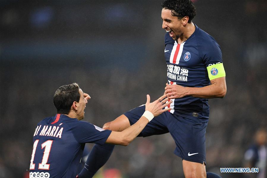 Cavani Reaches 200 Goal Milestone Psg Past Bordeaux In 4 3 Thriller Xinhua English News Cn