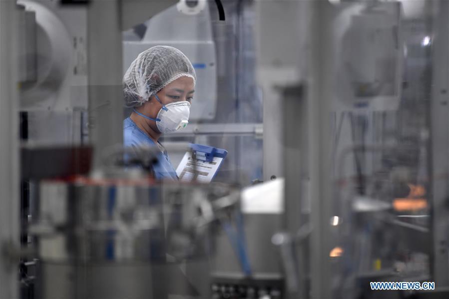 中国-天津-新冠状动脉-外国资助企业-恢复(CN)