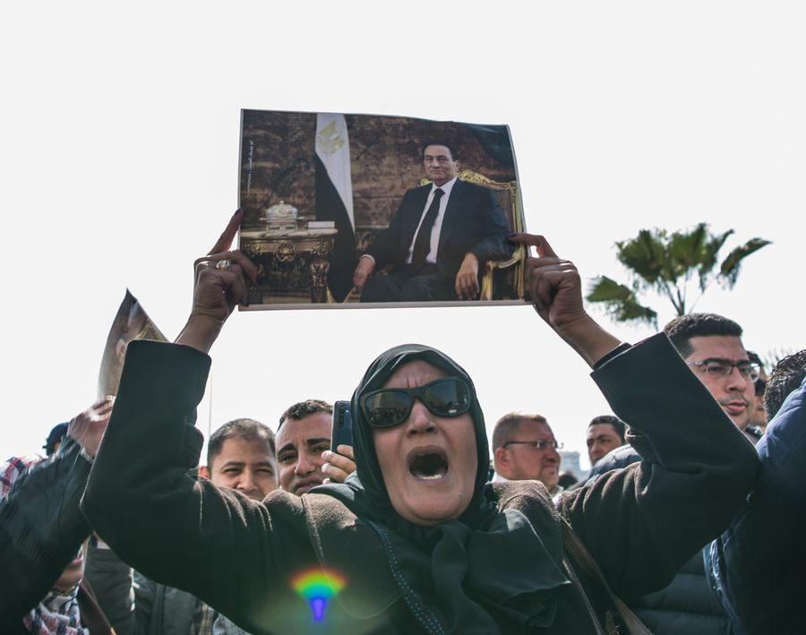 Egypt holds military funeral for former president Mubarak - Xinhua | English.news.cn