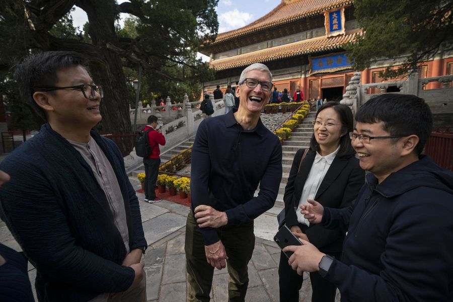 Apple CEO optimistic about China putting coronavirus under control - Xinhua | English.news.cn
