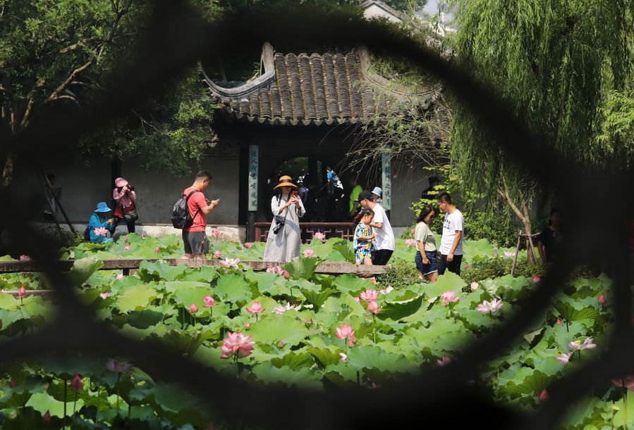 Suzhou Classical Gardens reopen after temporary closure amid epidemic - Xinhua | English.news.cn