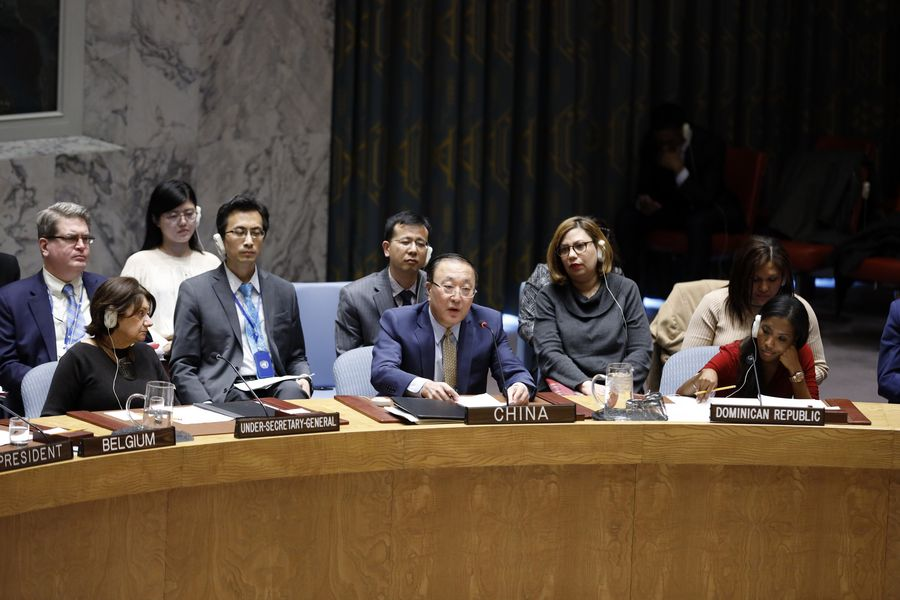 China Assumes Presidency Of Un Security Council For March Xinhua English News Cn