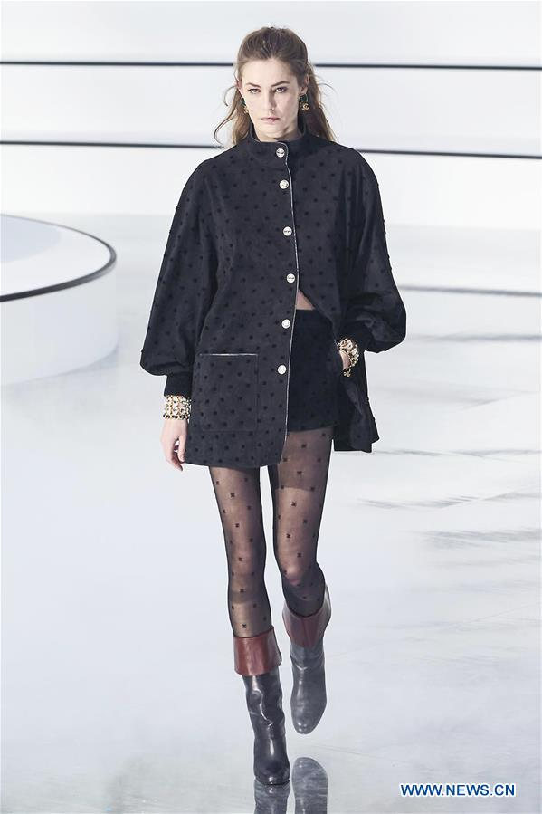 FRANCE-PARIS-FASHION WEEK-CHANEL