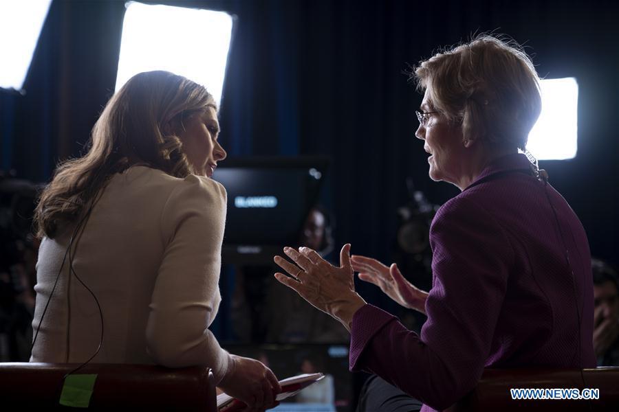 美国伊丽莎白·沃伦总统竞选竞赛