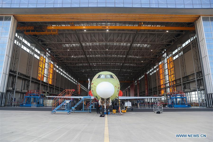 CHINA-SHANGHAI-REGIONAL AIRCRAFT-ARJ21-PRODUCTION RESUMPTION (CN)