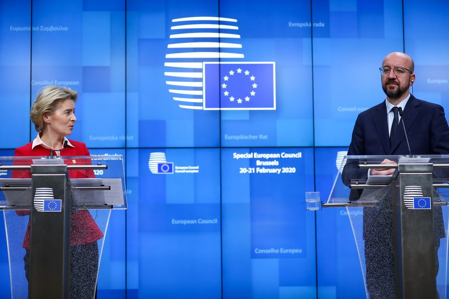 Xi says China firmly supports EU's battle against COVID-19