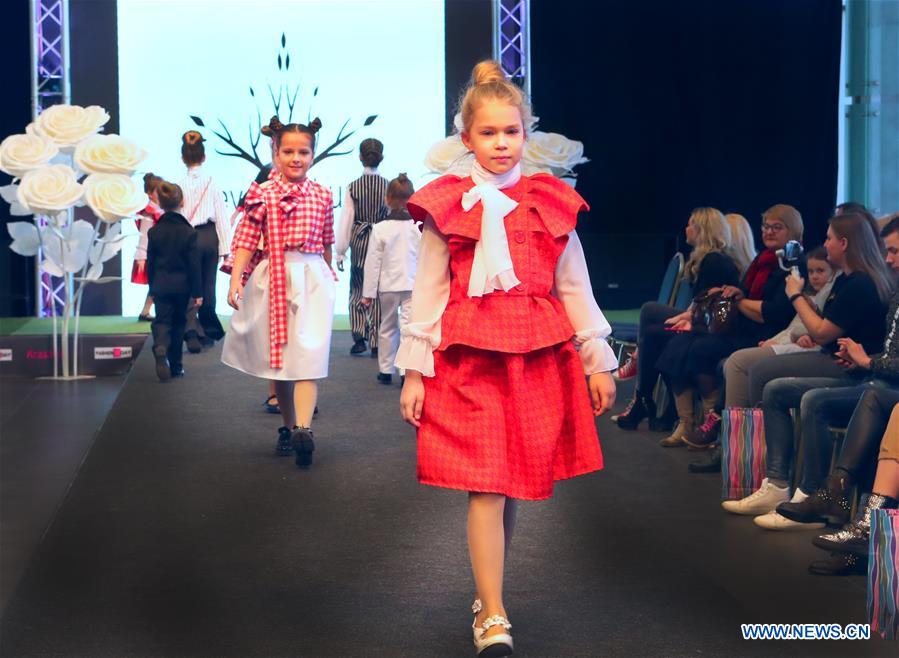 BELARUS-MINSK-FASHION-CHILDREN