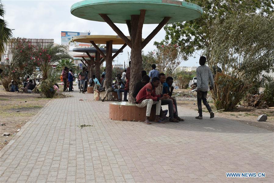 也门-亚丁-冠状病毒-移民