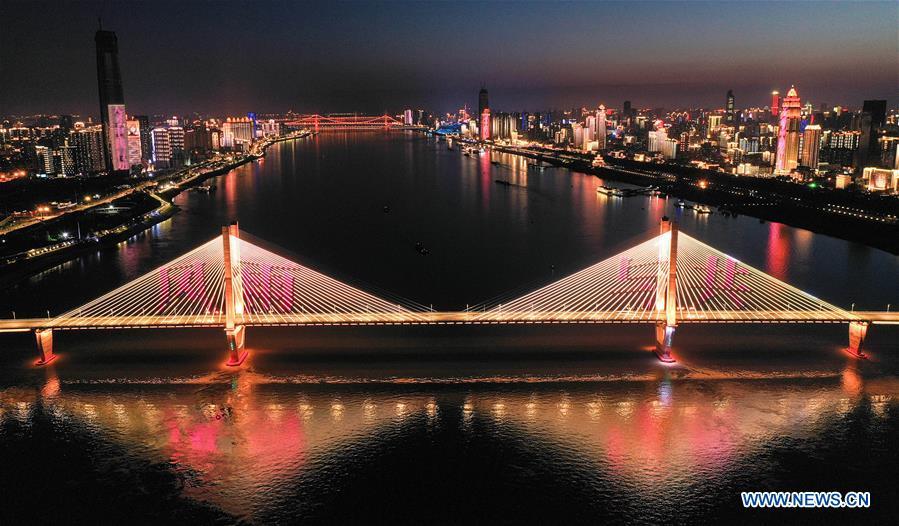 CHINA-WUHAN-NIGHT VIEWS (CN)