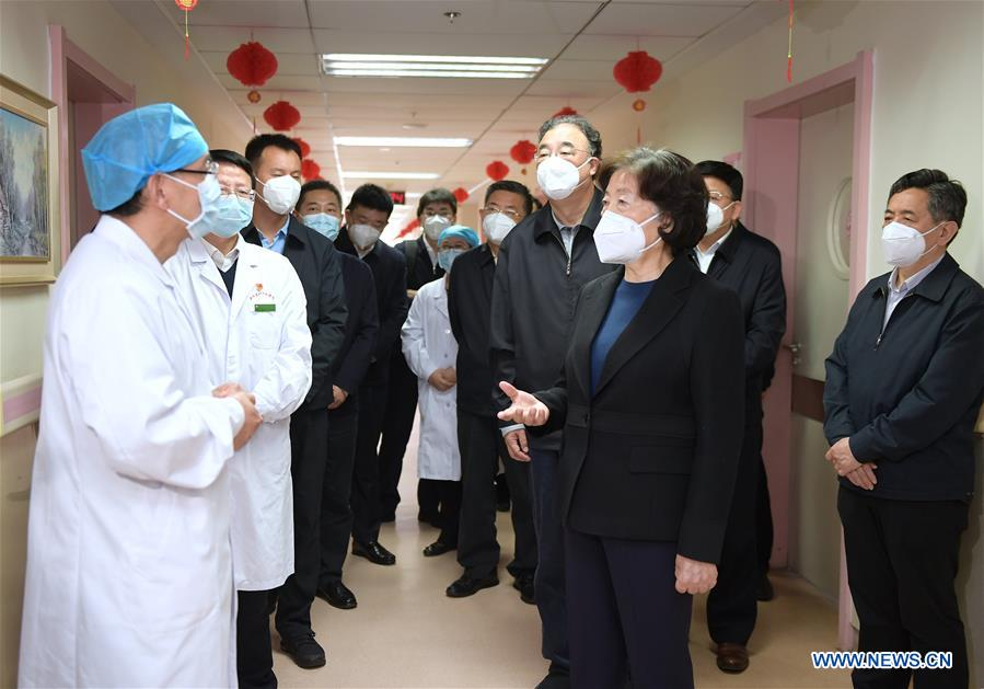Chinese Vice Premier Urges Orderly Restoration of Normal Medical Services