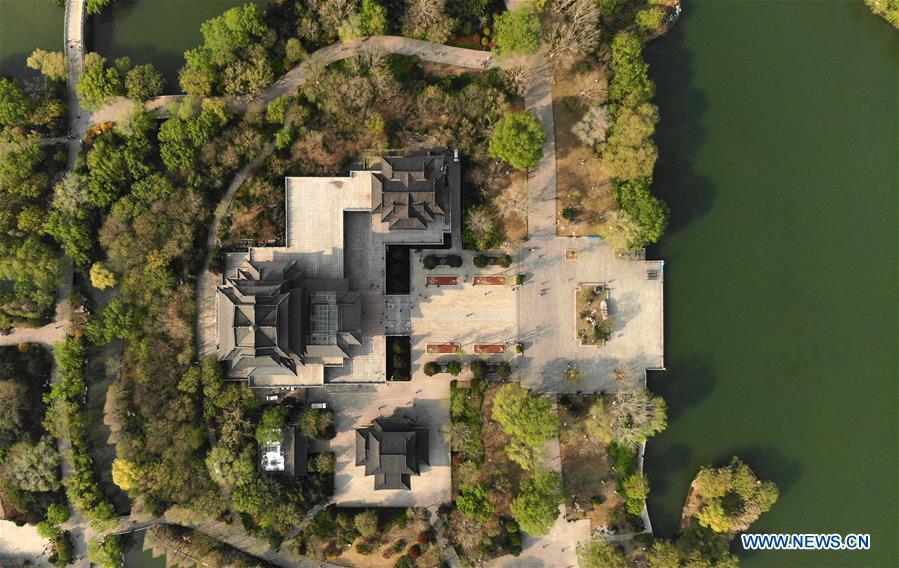 中国济南大明湖春天(CN)