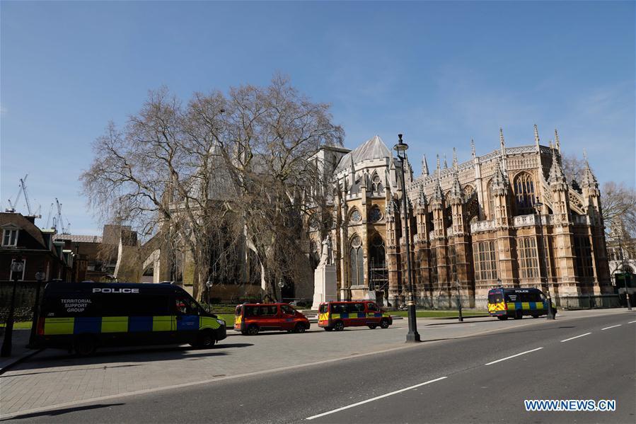 BRITAIN-LONDON-COVID-19-CASES