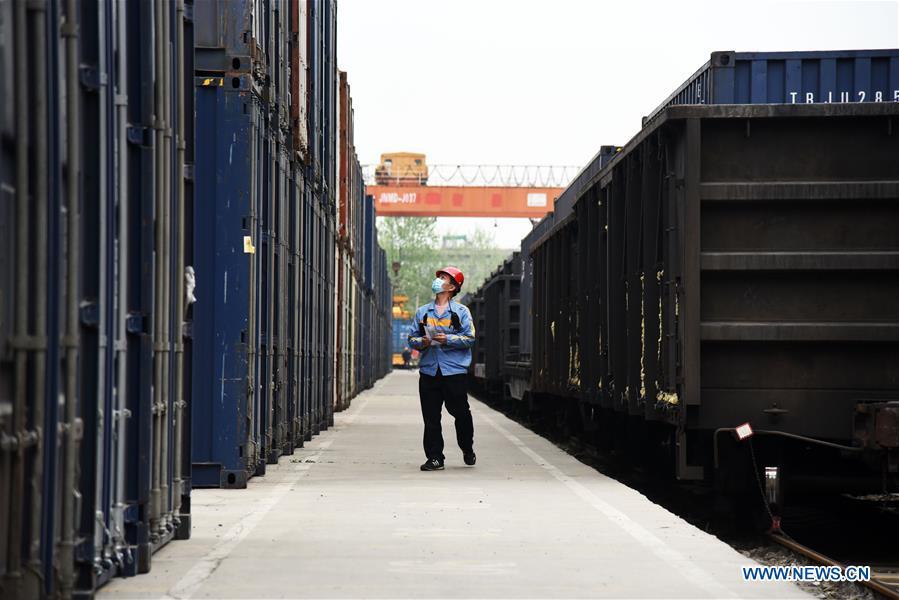 CHINA-JINAN-RAILWAY FREIGHT TRANSPORTATION-RESUMPTION (CN)