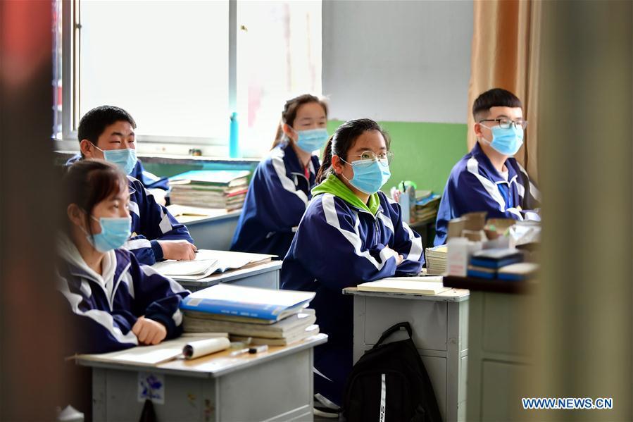CHINA-SHANXI-JINGLE-CLASS RESUMPTION (CN)